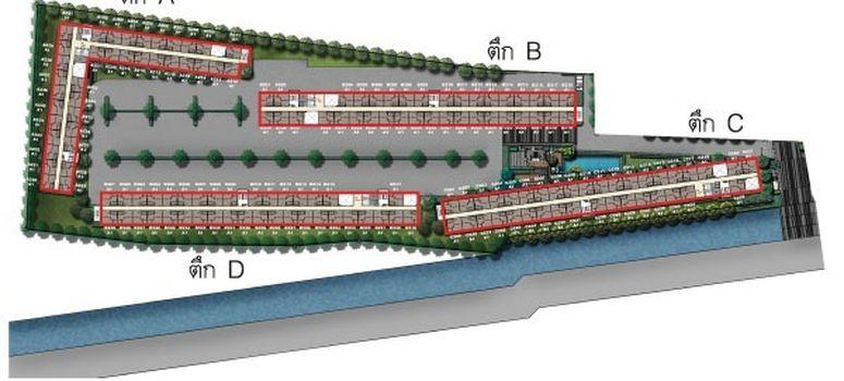 Master Plan of Plum Condo Bangyai Station - Photo 1