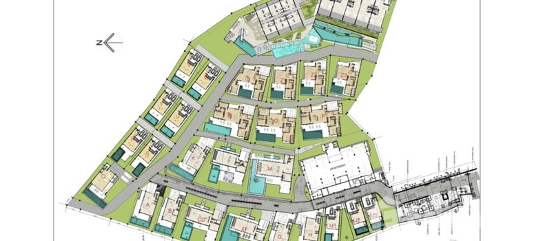 Master Plan of Unique Residences - Photo 1