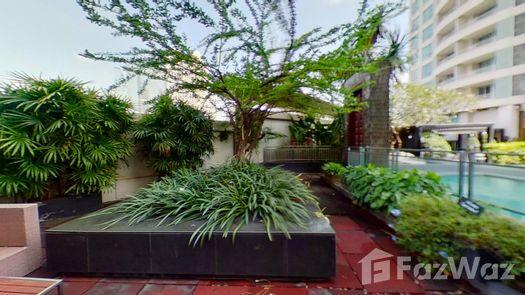 3D Walkthrough of the Communal Garden Area at Sathorn Heritage