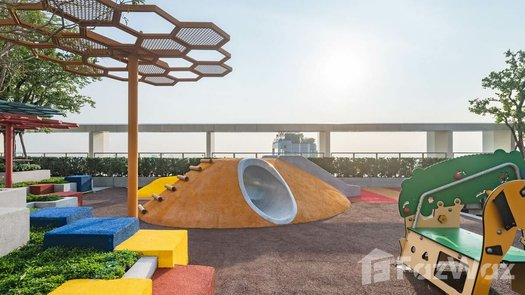 3D Walkthrough of the Outdoor Kids Zone at The Line Phahol-Pradipat