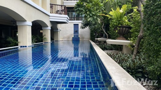 3D Walkthrough of the Communal Pool at The Cadogan Private Residences