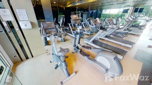 3D Walkthrough of the Communal Gym at Quattro By Sansiri