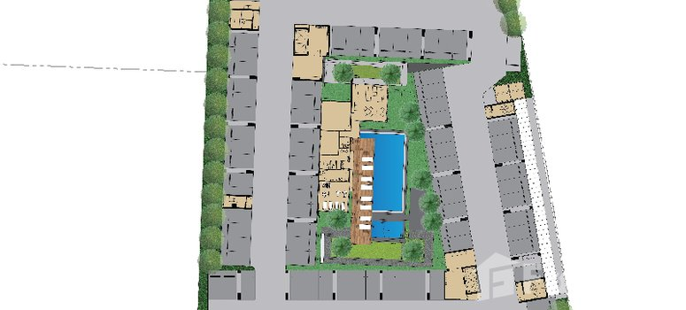 Master Plan of The Kith Plus Sukhumvit 113 - Photo 1