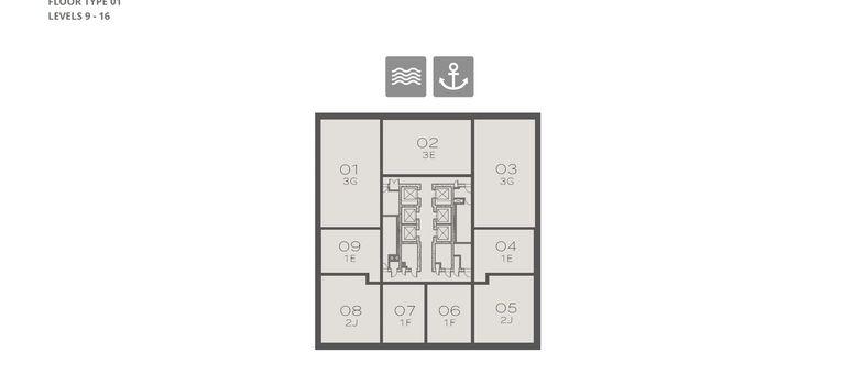 Master Plan of Marina Gate 2 - Photo 1