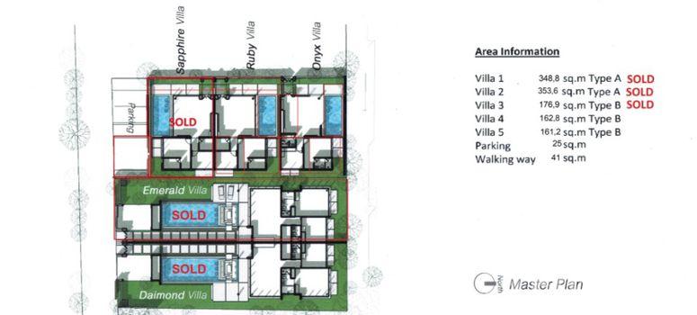 Master Plan of Crystal Villas - Photo 1