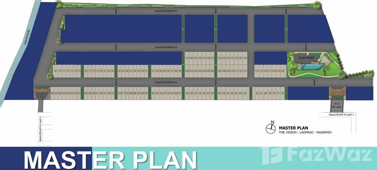 Master Plan of The Vision Ladprao - Nawamin - Photo 1