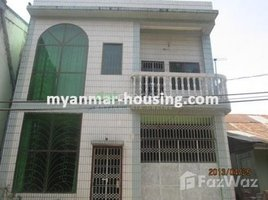 Yangon Kyeemyindaing 3 Bedroom House for sale in Kyeemyindaing, Yangon 3 卧室 别墅 售