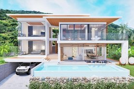Darika Residence Real Estate Development in Maenam, Surat Thani