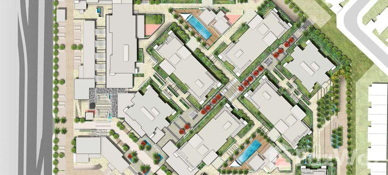 Master Plan of Uptown Al Zahia - Photo 1