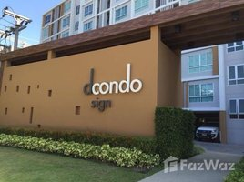 1 Bedroom Property for sale in Fa Ham, Chiang Mai D Condo Sign