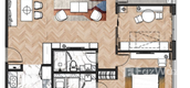 Unit Floor Plans of King Palace