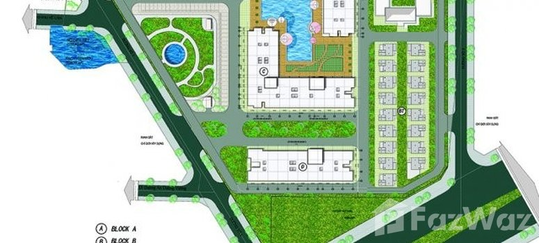 Master Plan of City Gate Towers 2 - Photo 1