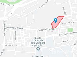 N/A المالك للبيع في NA (Tetouan Al Azhar), Tanger - Tétouan Lot de terrain pour R+4 près de la faculté des sciences