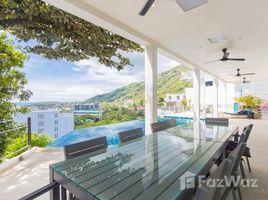 5 Bedrooms Property for rent in Karon, Phuket Villa Ginborn 5-6 bdr sea view pool villa in Kata