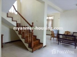 Yangon Hlaingtharya 3 Bedroom House for sale in Hlaing Thar Yar, Yangon 3 卧室 别墅 售