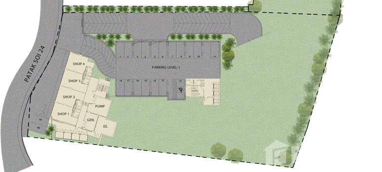 Master Plan of The Proud Residence - Photo 1