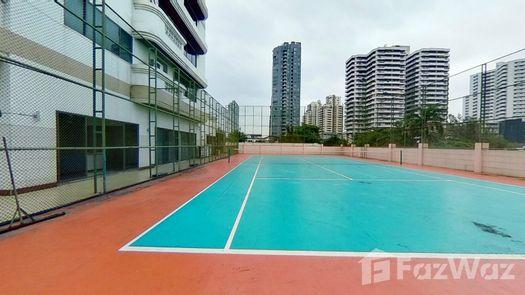 3D Walkthrough of the Tennis Court at Charan Tower