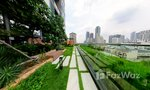 Communal Garden Area at The Lofts Silom