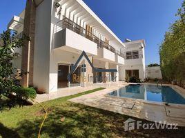 Rabat Sale Zemmour Zaer Na Agdal Riyad Villa en vente sur Souissi 6 卧室 屋 售