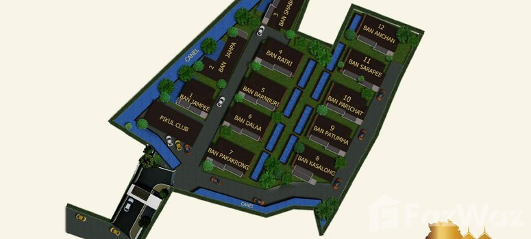 Master Plan of Kamala Garden View - Photo 1