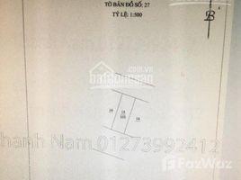 N/A Land for sale in My Dinh, Hanoi Tôi bán mảnh đất khu Liên Cơ, Mỹ Đình, khu văn phòng, hai mặt tiền ô tô 10m và 7m. +66 (0) 2 508 8780