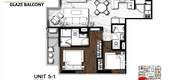 Unit Floor Plans of The Collection 16