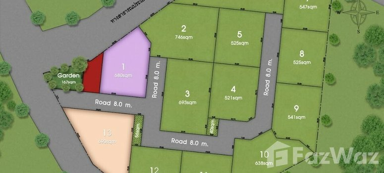 Master Plan of Moda Residences Hua Hin - Photo 1