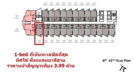 Available Units at EDGE Central Pattaya