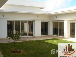 3 غرف النوم فيلا للإيجار في NA (Skhirate), Rabat-Salé-Zemmour-Zaer Villa Haut Standing meublée de 475 m² à louer à Skhirat dans une résidence sécurisée