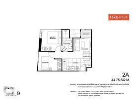 2 Bedrooms Condo for sale in Khlong Tan Nuea, Bangkok Taka Haus