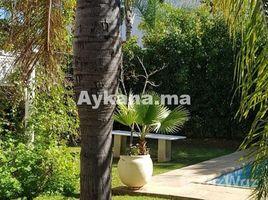 Rabat Sale Zemmour Zaer Na Agdal Riyad Vente Villa Rabat Souissi REF 1060 6 卧室 屋 售