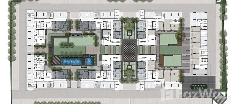Master Plan of Chapter One The Campus Kaset - Photo 1