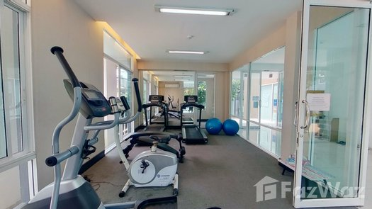 3D Walkthrough of the Communal Gym at One Plus Jed Yod Condo