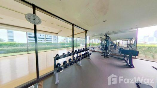 3D Walkthrough of the Communal Gym at Villa Asoke