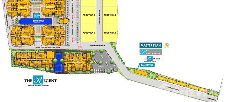 Master Plan of The Regent Kamala Condominium - Photo 1