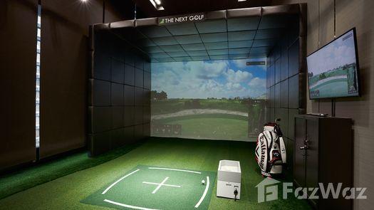 3D Walkthrough of the Simulateur de golf at The Esse Sukhumvit 36
