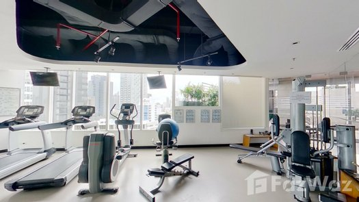 3D Walkthrough of the Gym commun at Eight Thonglor Residence