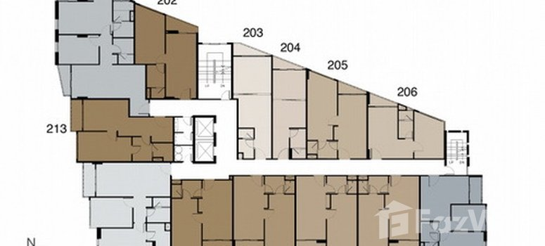 Master Plan of Trapezo Sukhumvit 16 - Photo 1