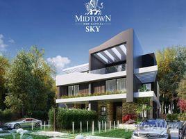 Cairo New Capital Compounds Midtown Sky 4 卧室 联排别墅 售