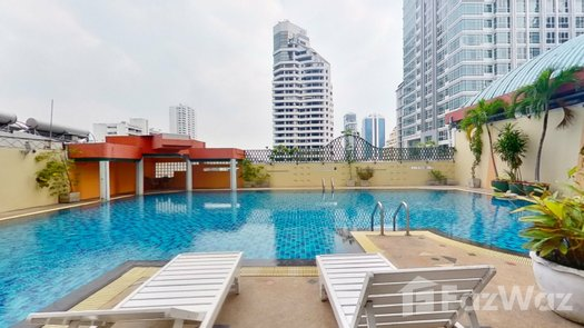 3D Walkthrough of the Communal Pool at Fifty Fifth Tower