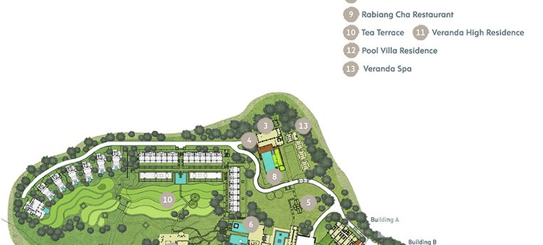 Master Plan of Veranda High Residence - Photo 1