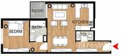 Unit Floor Plans of Pantheon Elysee