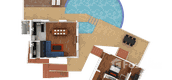 Building Floor Plans of The Coolwater Villas