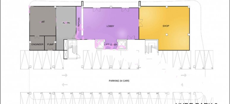 Master Plan of Hyde Park Residence 2 - Photo 1