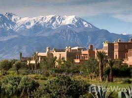 Marrakech Tensift Al Haouz Na Menara Gueliz Belle Villa à louer meublée, de 3 chambres, avec piscine privative située au Samanah golf à 15 min du centre de Marrakech sur la route d'Amizmiz 3 卧室 屋 租