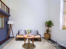 1 Bedroom House for rent in Phsar Chas, Phnom Penh Riverside | Colonial 1 Bedroom Renovated Townhouse For Rent in Phsar Chas | $500