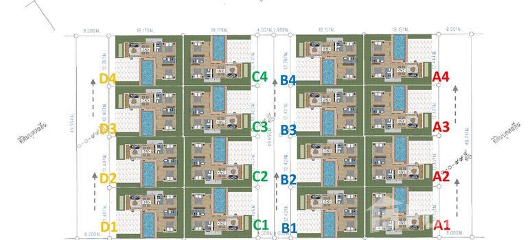 Master Plan of Green Home Pool Villa at Hua Hin - Photo 1