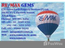 Tamil Nadu Egmore Nungabakkam Mudichur, Manimangalam Road, Chennai, Tamil Nadu N/A 土地 售