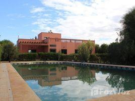 Marrakech Tensift Al Haouz Na Annakhil Maison de campagne à louer vide ou meublée sur la route de Fes 3 卧室 别墅 租