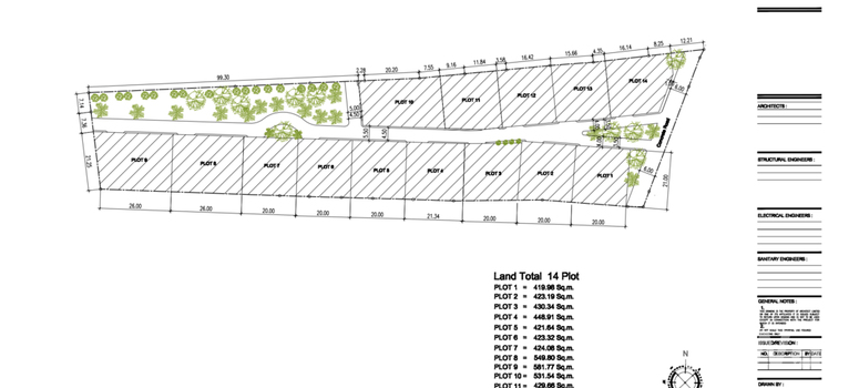 Master Plan of MANEE by Tropical Life Residence - Photo 1